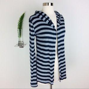 Michael Stars Comfy Stripes Open Sweater